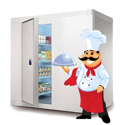 Холодильная камера для ресторана и других предприятий общественного питания